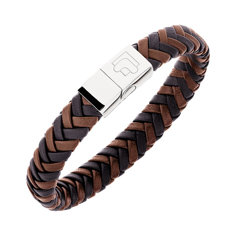 Lunavit Magnet Leather Bracelet Nerone