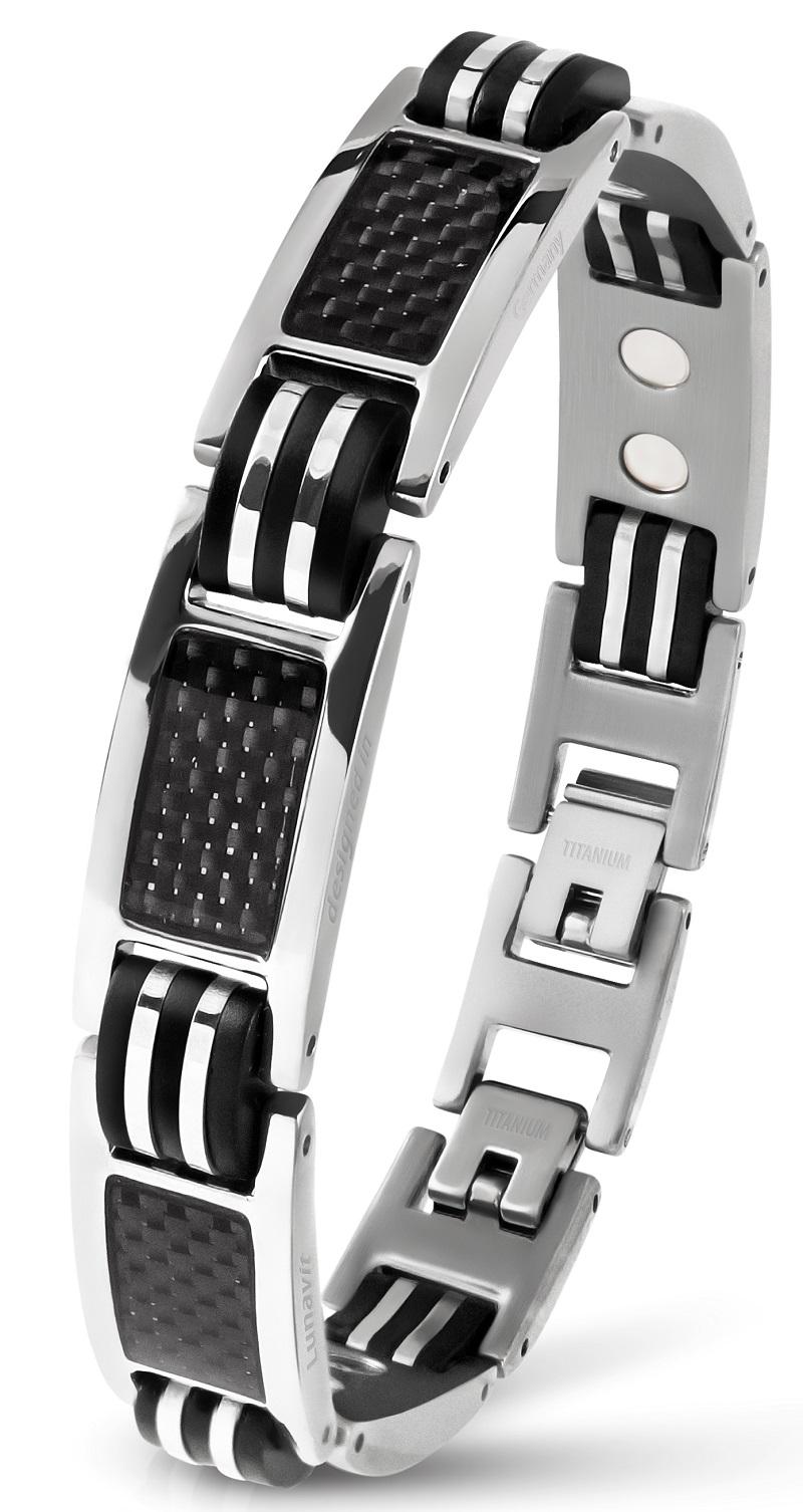 neues Hoch absolut stilvoll Ausverkauf Lunavit® Magnetschmuck - Hochwertiges Magnet Armband Ercole ...